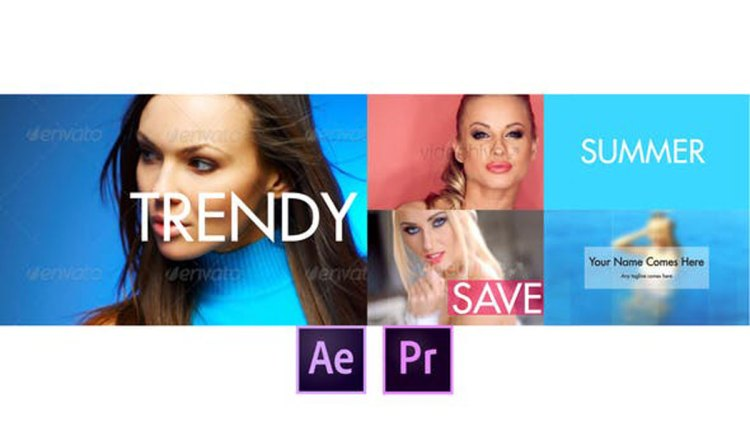 Videohive Fast and Dynamic Slideshow - Premiere Pro 27717042