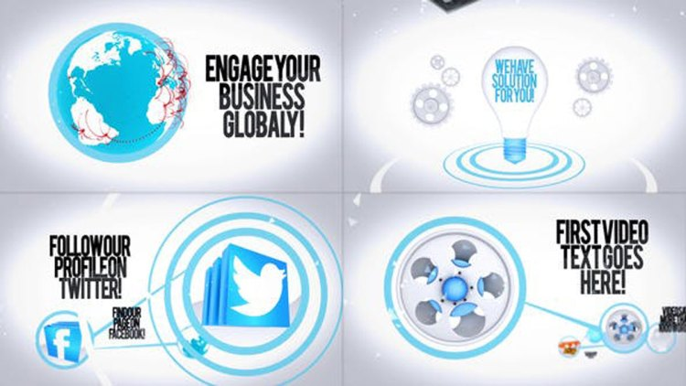 Videohive Global Promotion Titles 27732480
