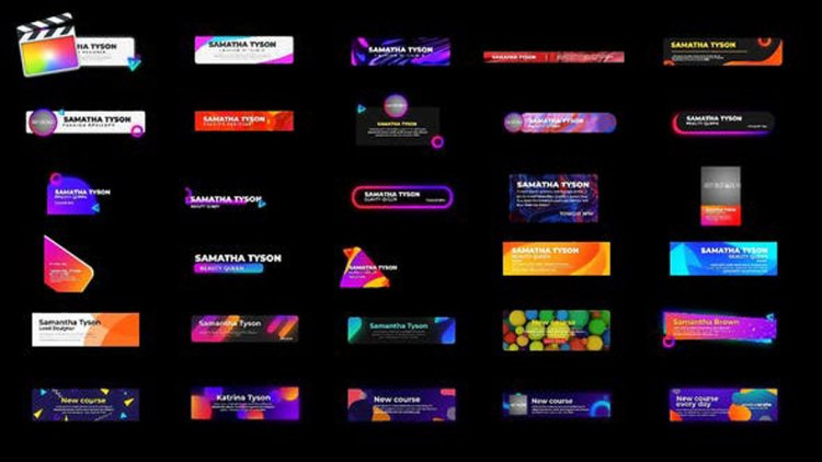 Videohive Pop Lower thirds 27347617