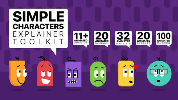 Videohive Simple Characters Explainer Toolkit 26245201