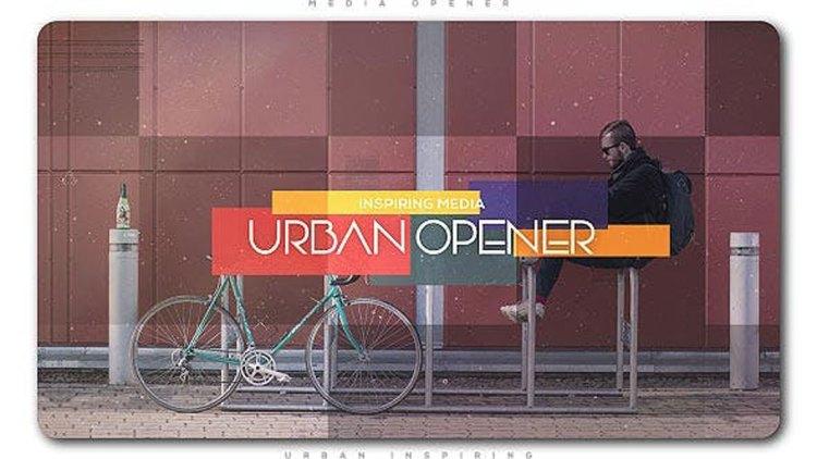 Videohive Urban Inspiring Media Opener 27805099