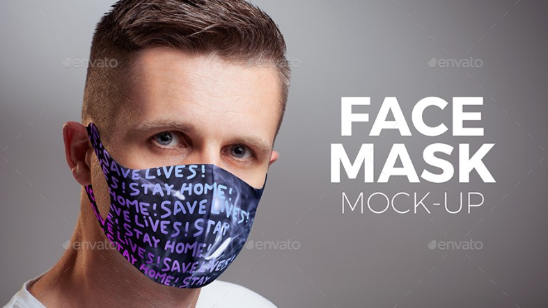 Face Mask Mock-up 27534854