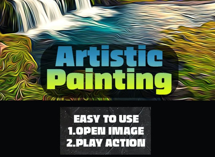 Artistic Painting Photoshop Action 26590064