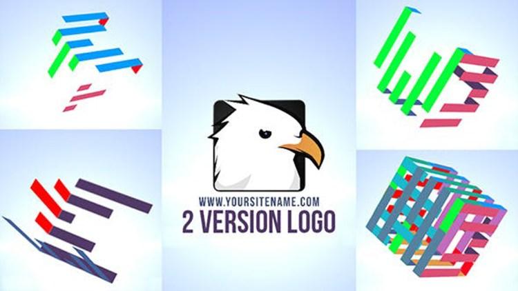 Videohive Color Cube Logo 19843902