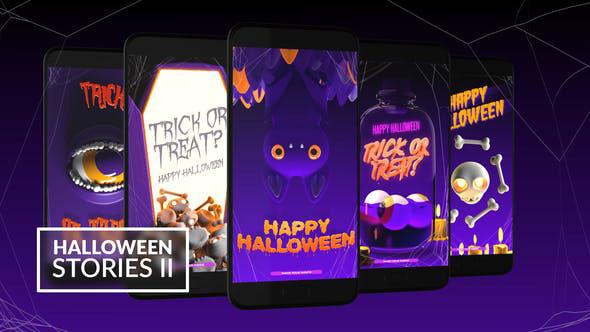 Videohive Halloween Instagram Stories 28756035