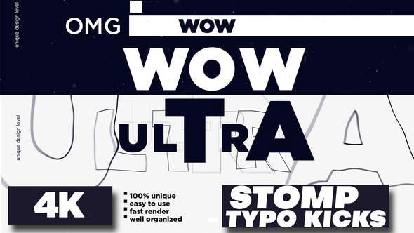 Videohive Stomp Typo Kicks 28278738