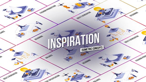 Videohive Inspiration Isometric Concept 28986847