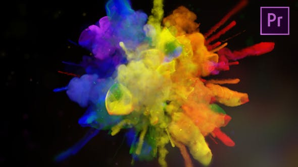 Videohive Exploding Colors Logo Reveal Premiere Pro 23198911