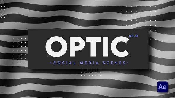 Videohive Optic Social Media Scenes 28946825