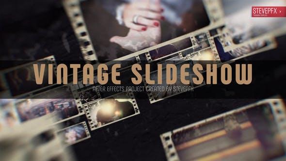Videohive Vintage Slideshow 12467454