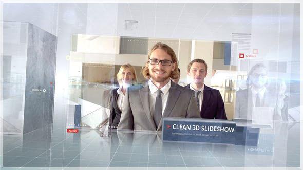 Videohive Clean 3D Corporate 26806318