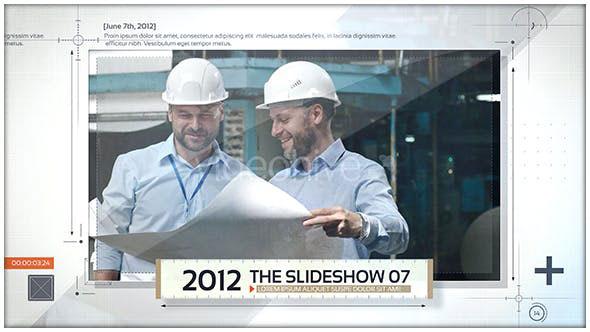 Videohive Timeline Slideshow 20341052