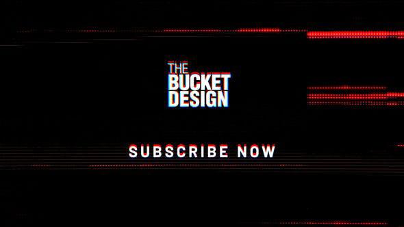Videohive YouTube Glitch Logo Reveal 28782631