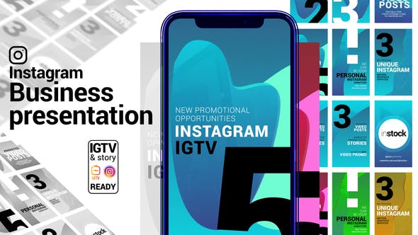 Videohive Instagram Story Business Presentation IGTV and Story ready 29056587