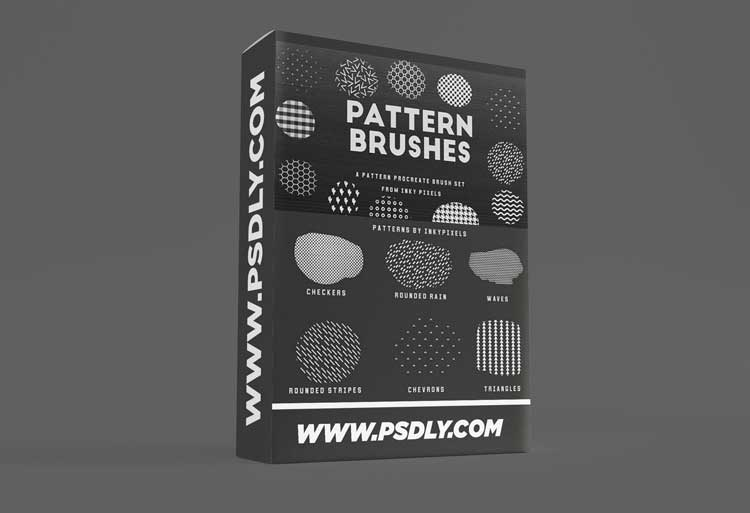 15 Procreate Pattern Brushes 1530632 Download