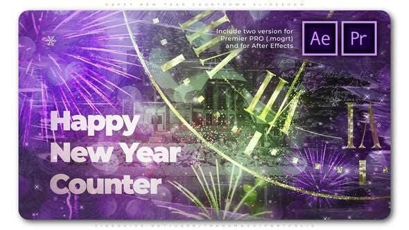 Videohive - Magical Countdown New Year Slideshow - 29479121