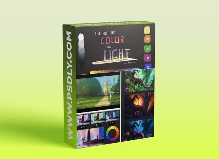 CGMA - The Art of Color And Light with Marco Bucci