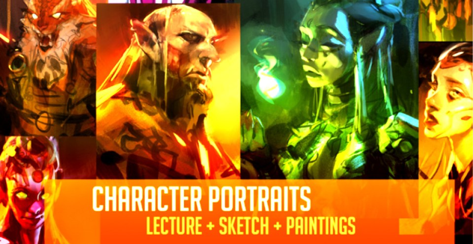 Gumroad – Character Portraits Real Time By Ahmed Aldoori Preview