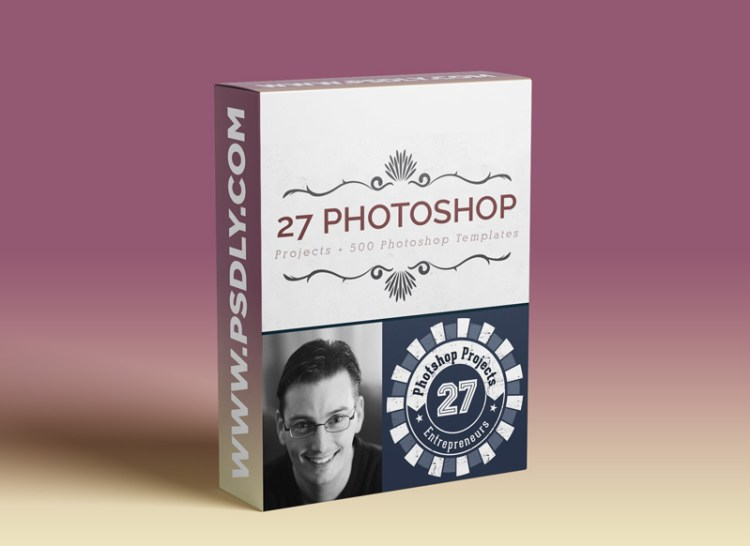 Photoshop - 27 Design Projects for Graphic Designers, Business Owners & Freelancers