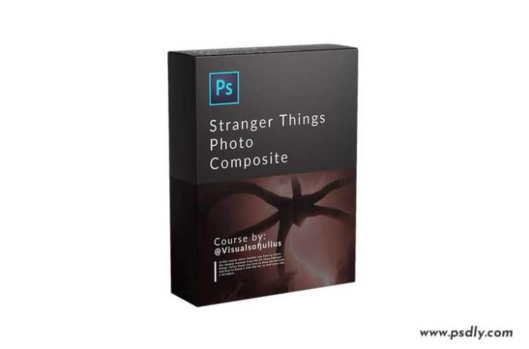 VisualsofJulius – Stranger Things Photo Composite By Julius Kähkönen