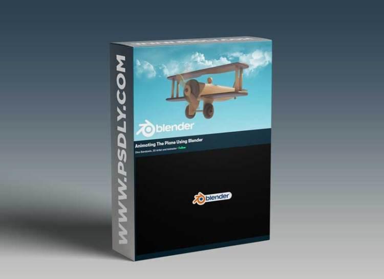 Animating The Plane Using Blender