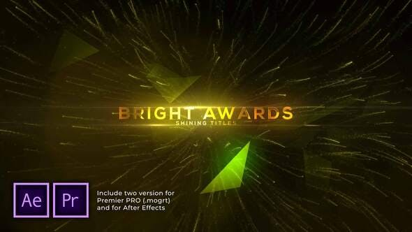 Videohive - Bright and Shine Awards Titles - 29949157