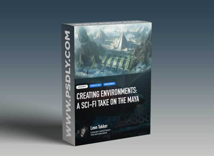 CGCUP – Creating Environments – A Sci fi Take on the Maya with Leon Tukker