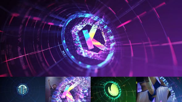 Videohive Tech Logo Transition and End V2 29529373