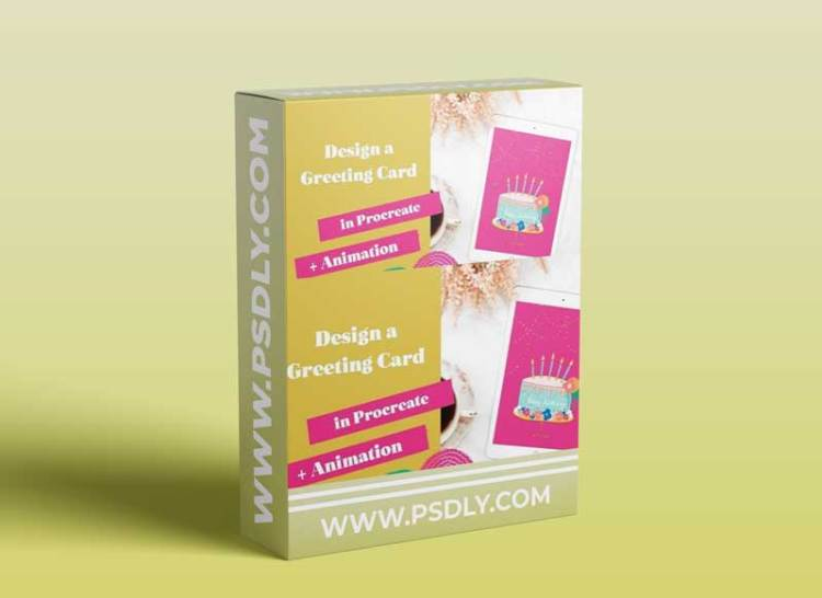 Beginner Procreate Level   Design a Greeting Card on your iPad + FREE Procreate Brushes