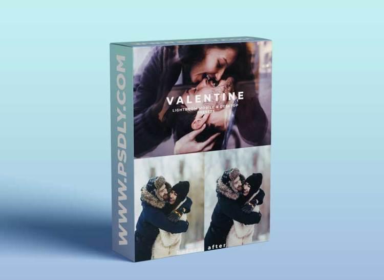CreativeMarket - VALENTINE Lightroom Presets 5869078
