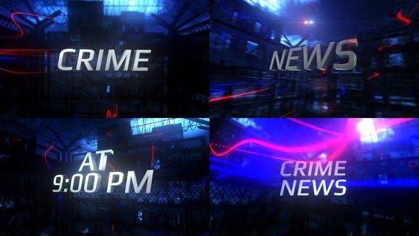 Videohive Crime News 31208828