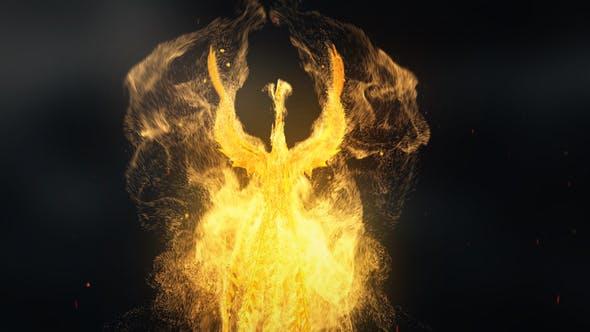 Videohive Flying Phoenix Logo Reveal 28538281