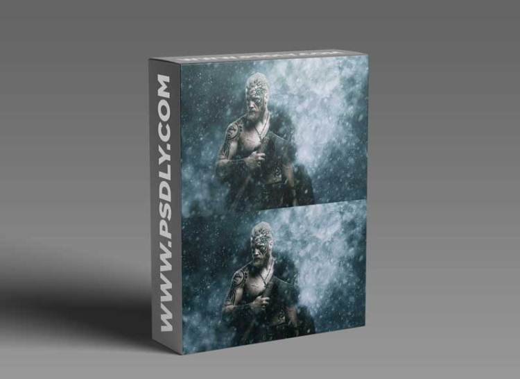 GraphicRiver - Ice Storm Action for Photoshop CS6+ 30260378