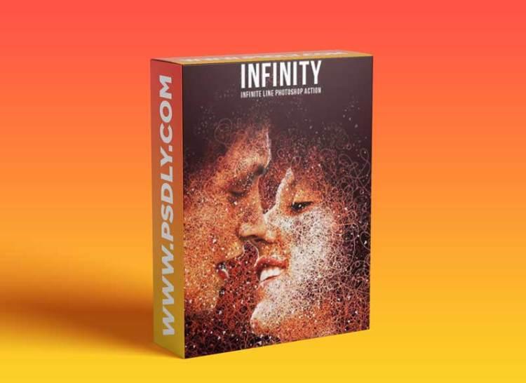 GraphicRiver - Infinity-Infinite Line Photoshop Action 17625476