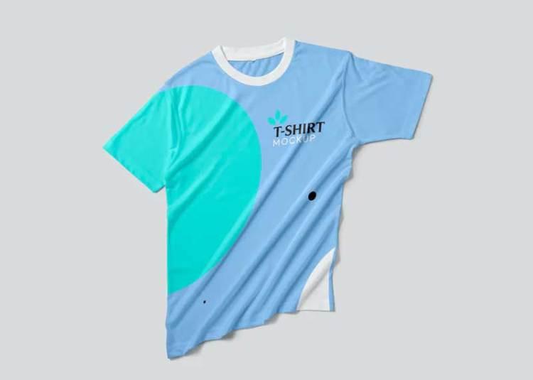 Half Sleeve T-shirt Mockups 289JLVB
