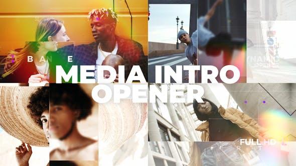 Videohive Media Intro Opener 30573499