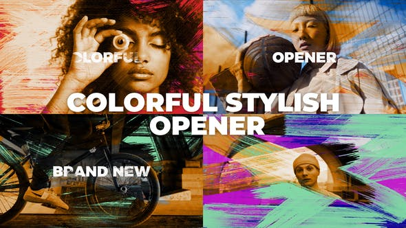 Videohive Colorful Stylish Opener 30577100