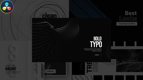 Videohive Typography Modern Pack 29977595