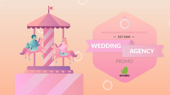 Videohive Wedding Agency Promo 27723282