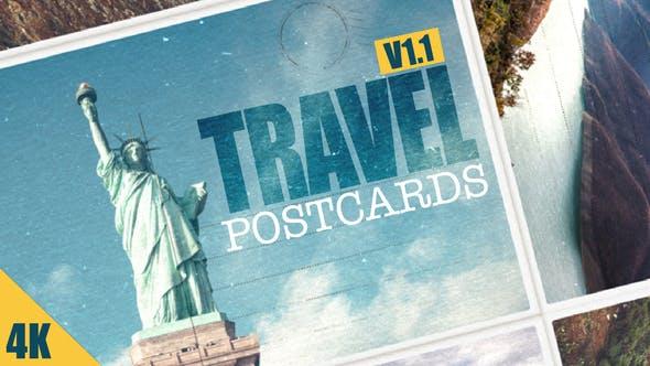 Videohive Travel Postcard v1.1 14982261