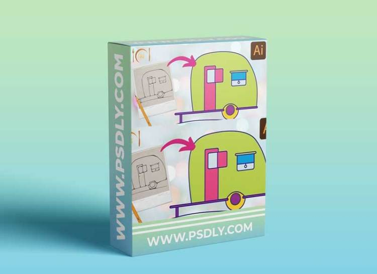 Sketch to Vector Art in Illustrator - An Illustrator for Lunch™ Class - Digital Assets for Sale