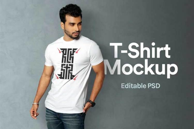 T-Shirt Mockup 06 L5JHUNN