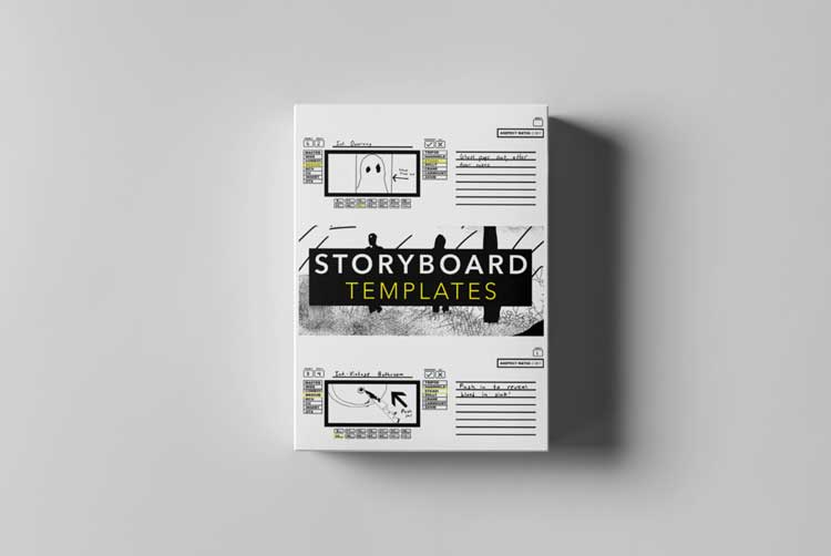 Tropic Colour - STORYBOARD TEMPLATES