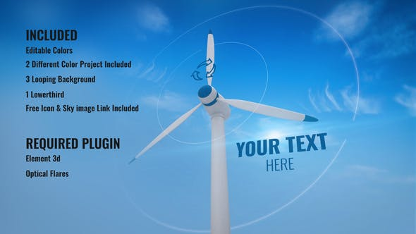 Videohive Clean Energy Opener and Background 31190908