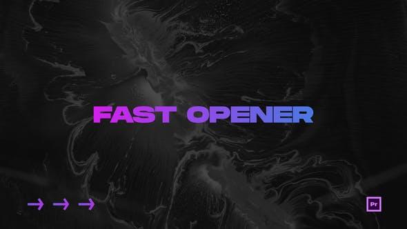 Videohive Fast Opener Premiere Pro 30493586