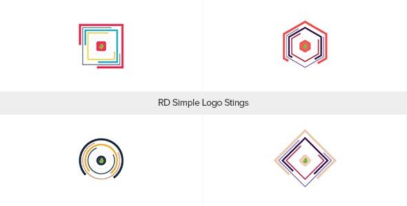 Videohive RD Simple Logo Stings 19252999