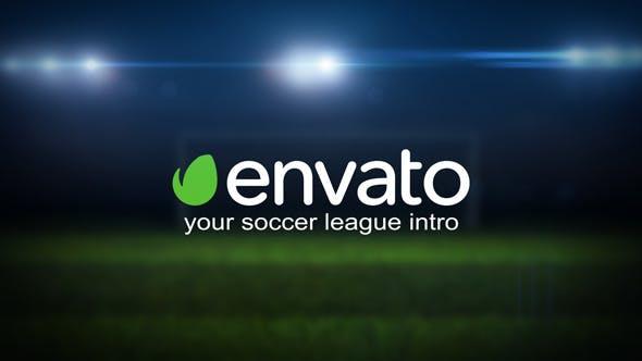 Videohive Soccer League Intro 11859350