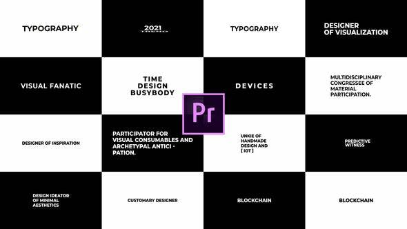 Videohive Just Typography 2.0 for Premiere Pro Essential Graphics 30954684