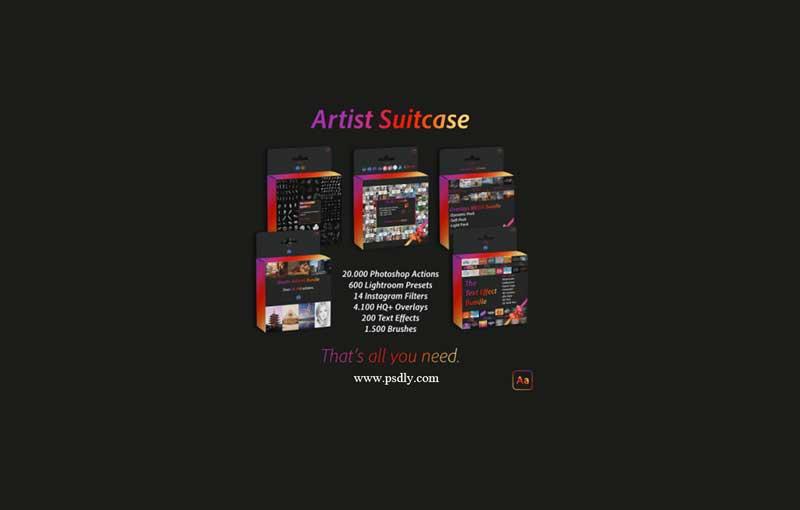 AdobeArtist – Artist Suitcase All Bundles