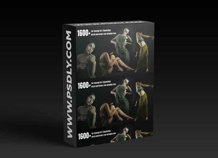 Artstation - 1600+ MYSTIC inspiration   POSE REFERENCE PACK